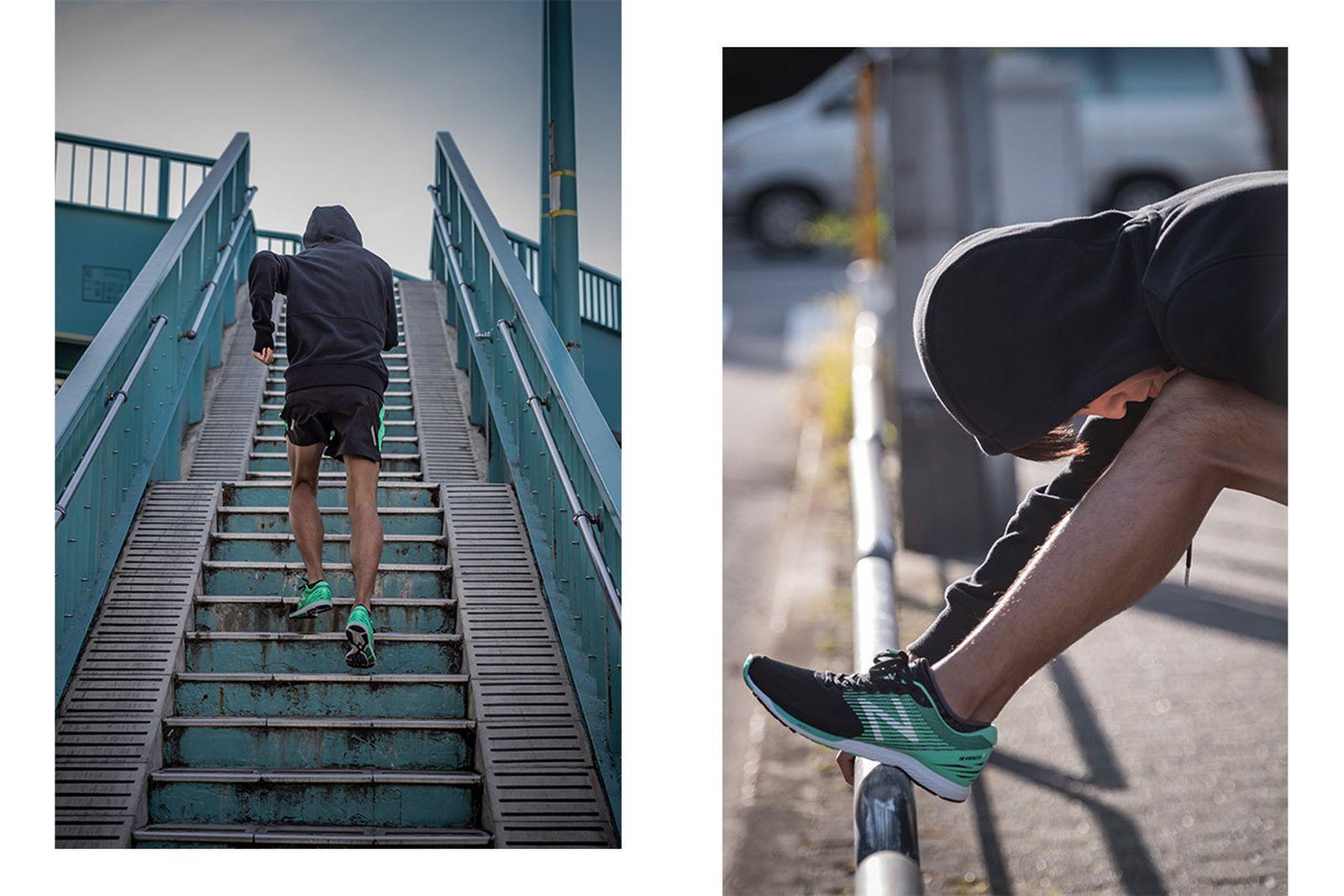japans next great marathon runner got blessed god shoes07 1200x800 New Balance running shoes