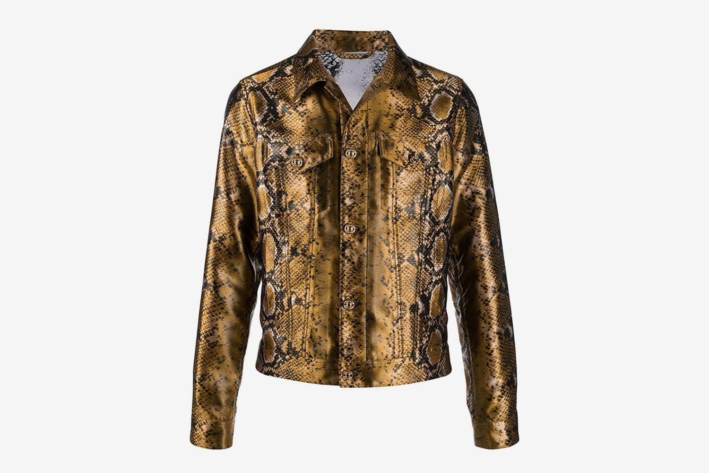 Python-Print Shirt Jacket