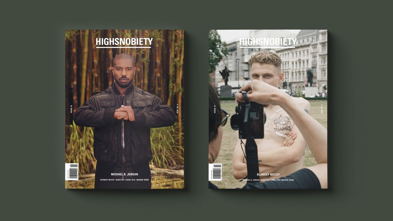 HIGHSNOBIETY MAGAZINE - ISSUE 19 - campaign