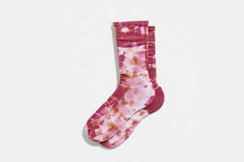 Contemporary Dye Crew Sock