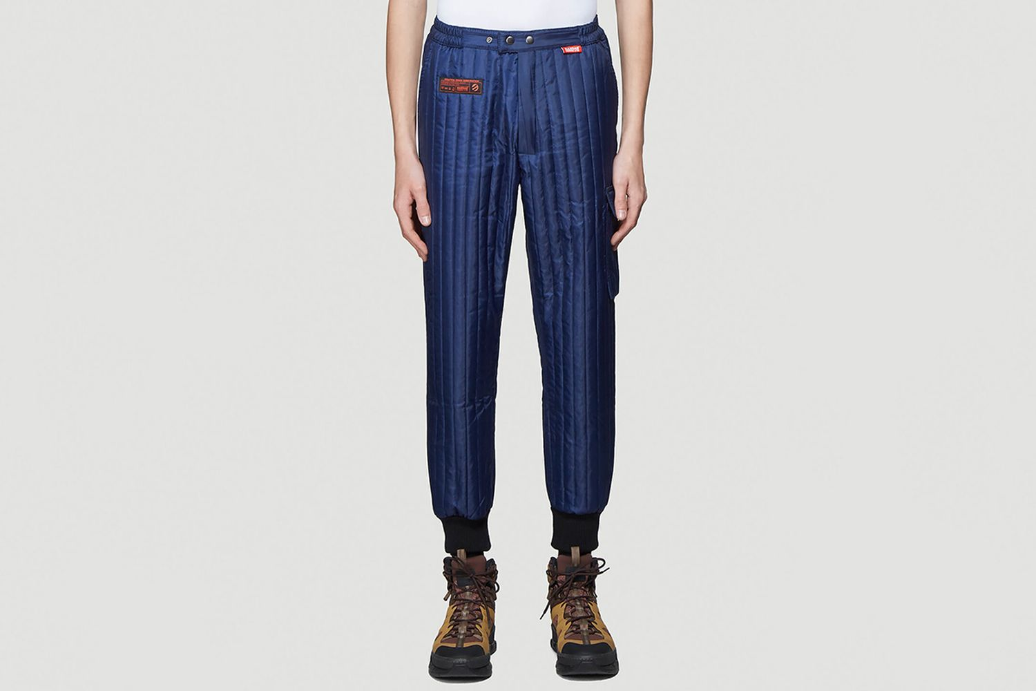 Quilted Track Pants