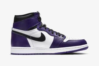 air jordan 1 court purple 2020 stock