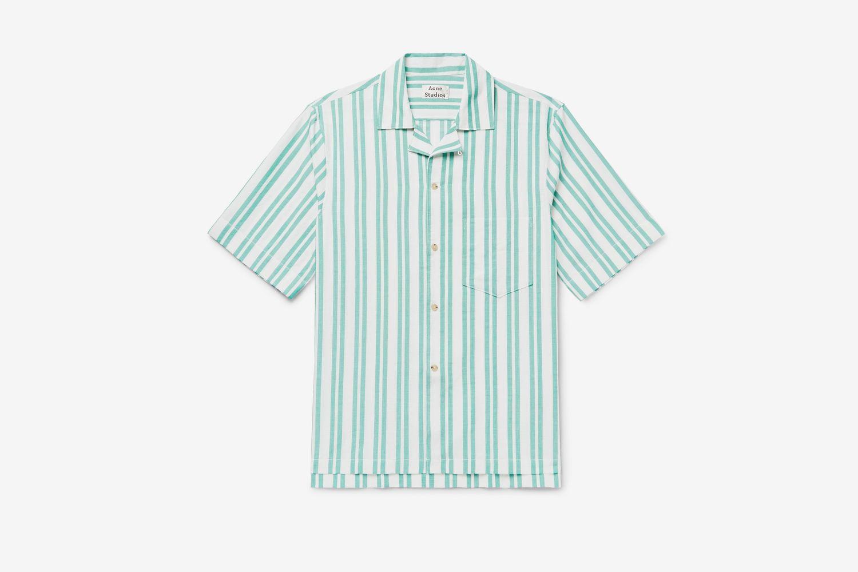 Simon Camp-Collar Shirt