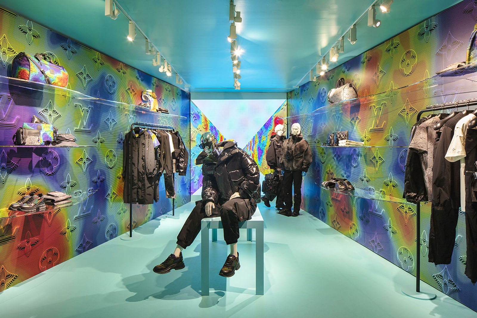 Louis Vuitton 2054 Soho pop-up shop