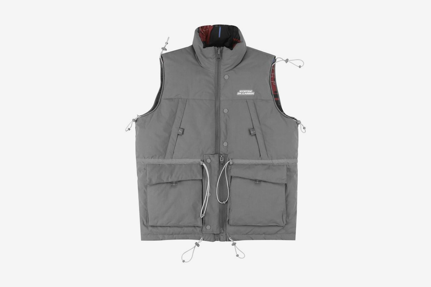"""System On Carbon"" Reversible Vest"