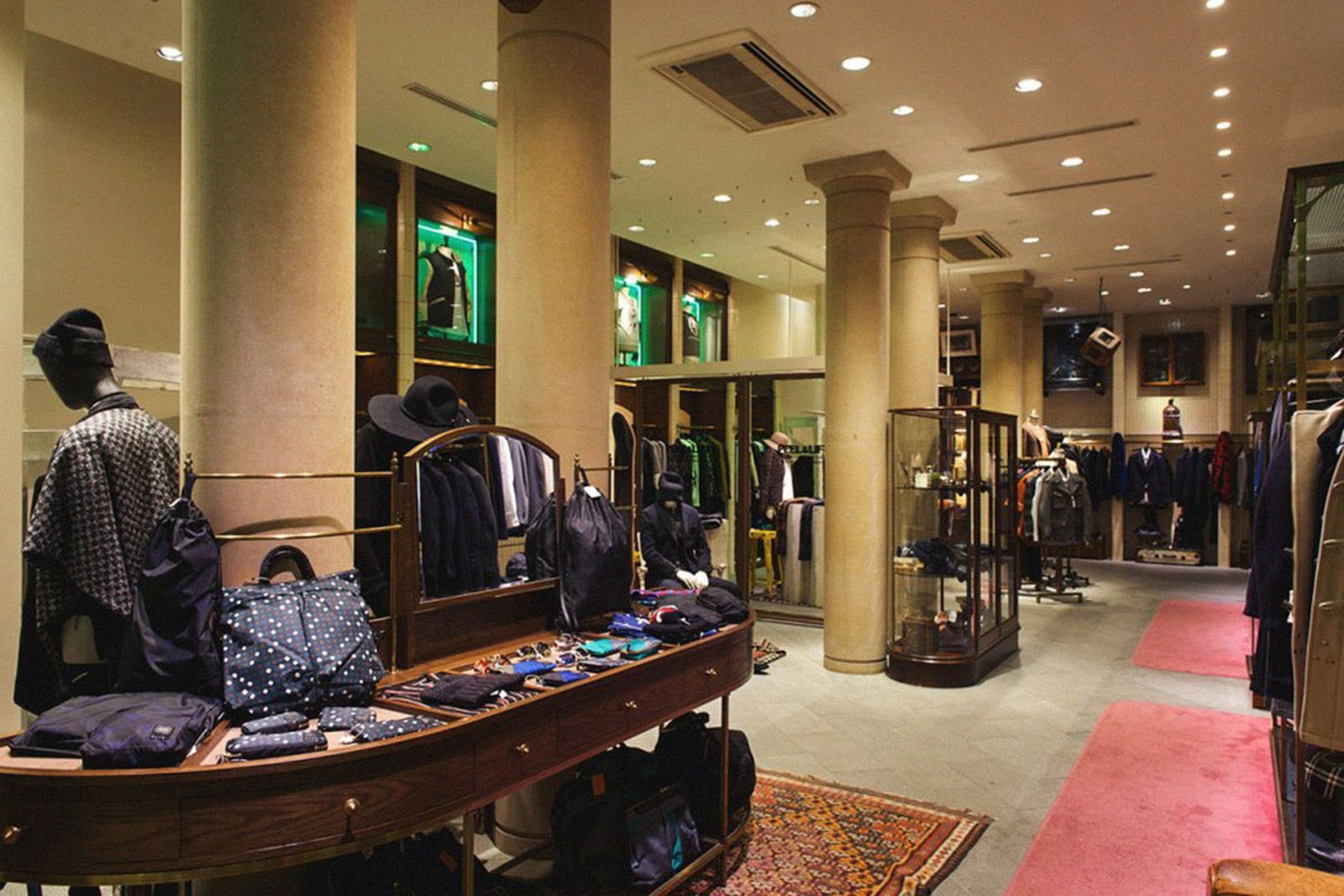 tokyo shopping guide supreme United Arrows & Sons prov the real mccoys have a good time