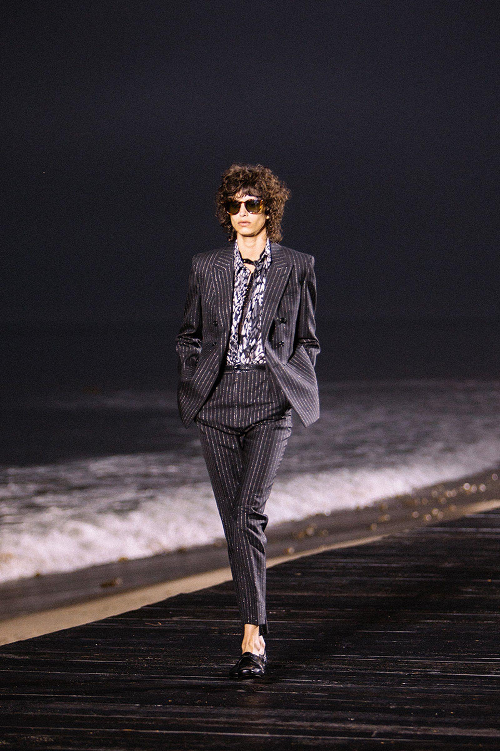 saint laurent ss2020 menswear collection fashion shows