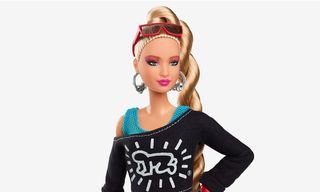 Barbie Flexes Her Artistic Side in New Keith Haring Collab