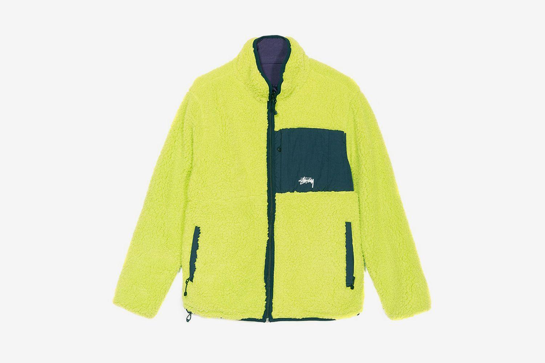Reversible Micro Fleece Jacket