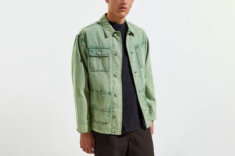 Acid Wash Chore Jacket