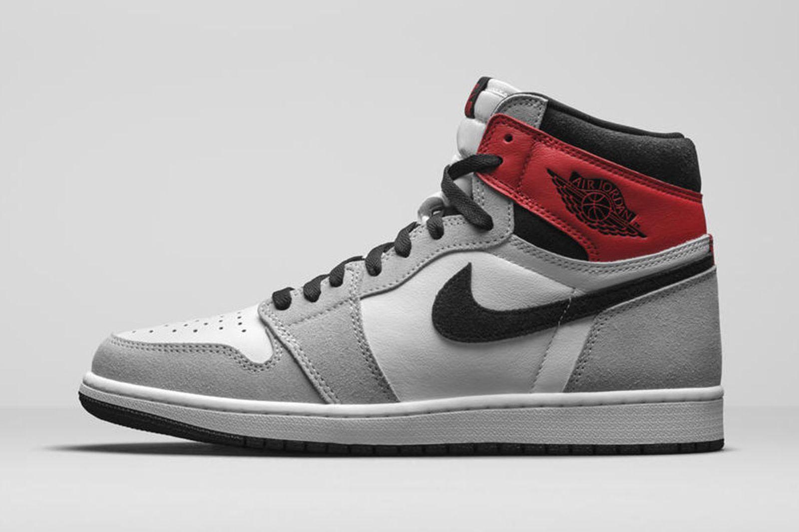 Jordan Brand Fall 2020 sneaker lineup Air Jordan 1 grey red