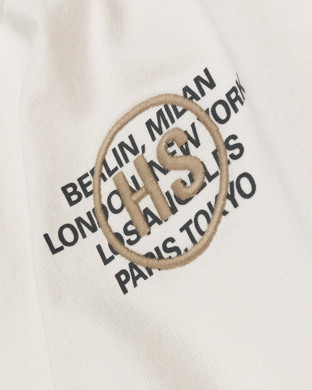 Highsnobiety – Logo T-Shirt Natural - Image 4