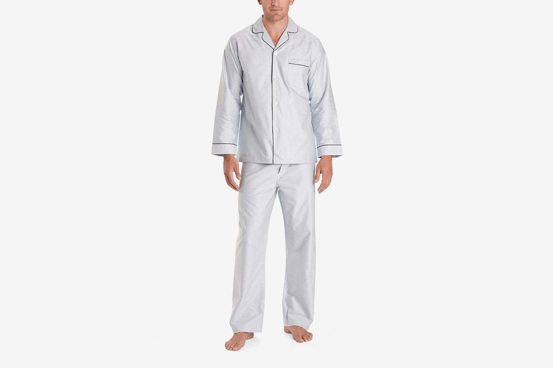 Wrinkle Resist Oxford Pajamas