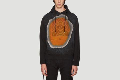 Spray Paint Hooded Sweatshirt