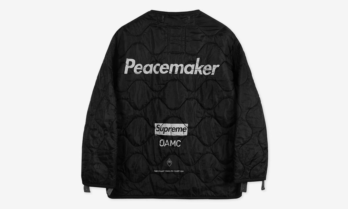 Supreme Just Dropped an OAMC Collab for Charity, Buy It Now