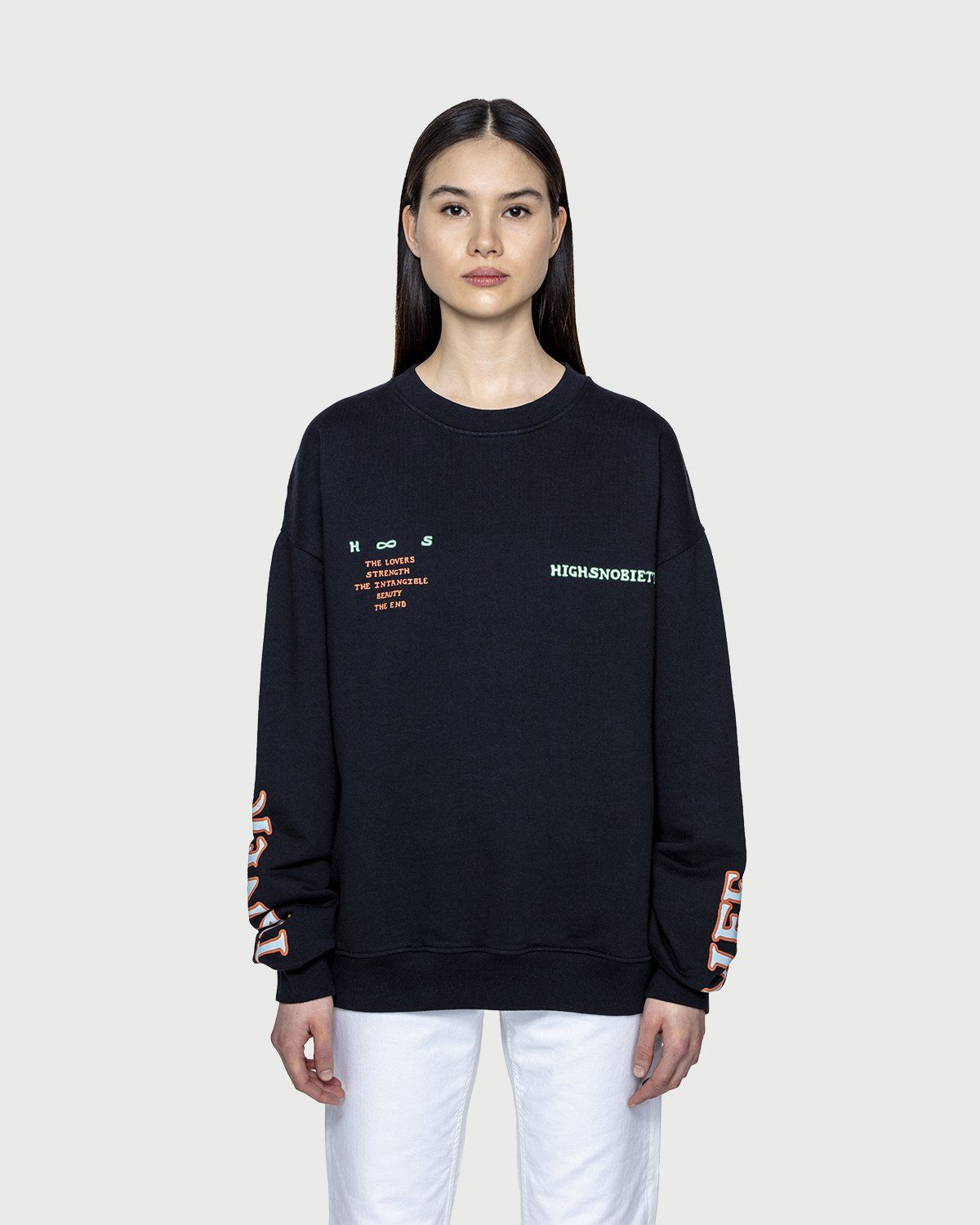 Inner Life by Highsnobiety - The Intangible Sweatshirt Black - Image 3