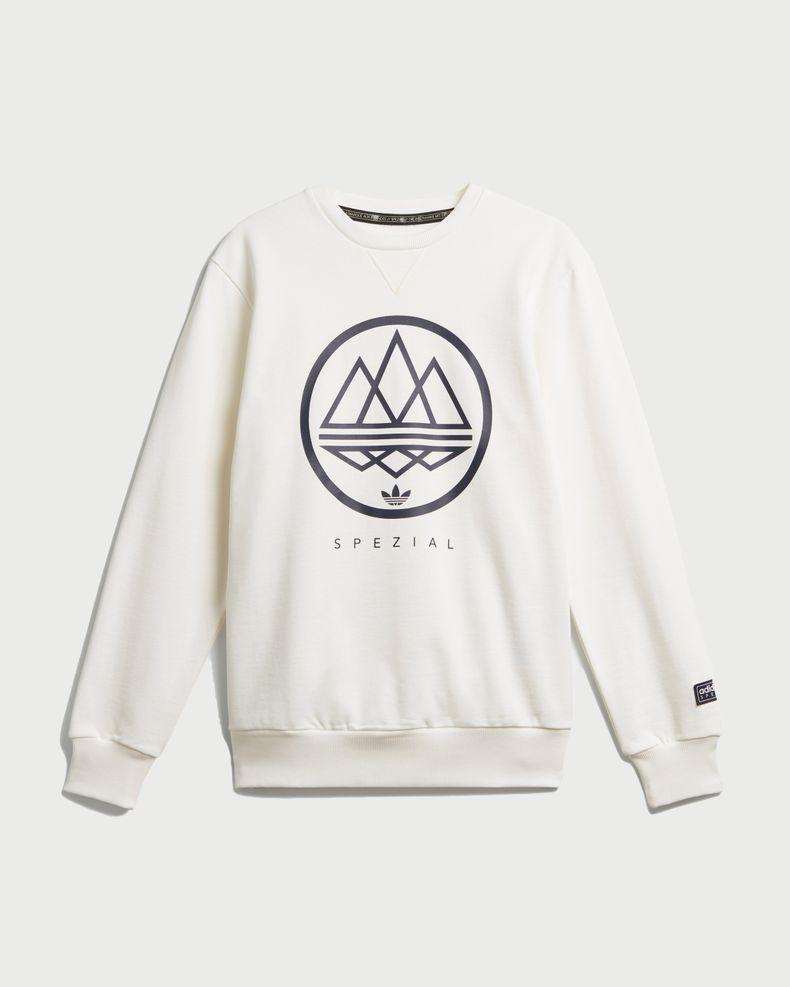 Adidas Crew Spezial - White