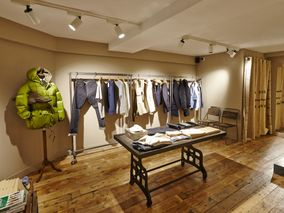 "cf6ddacb91fd Go Inside the New Nigel Cabourn Store – ""The Army Gym"" London. By Lena  Dystant in Stores  Sep 29"