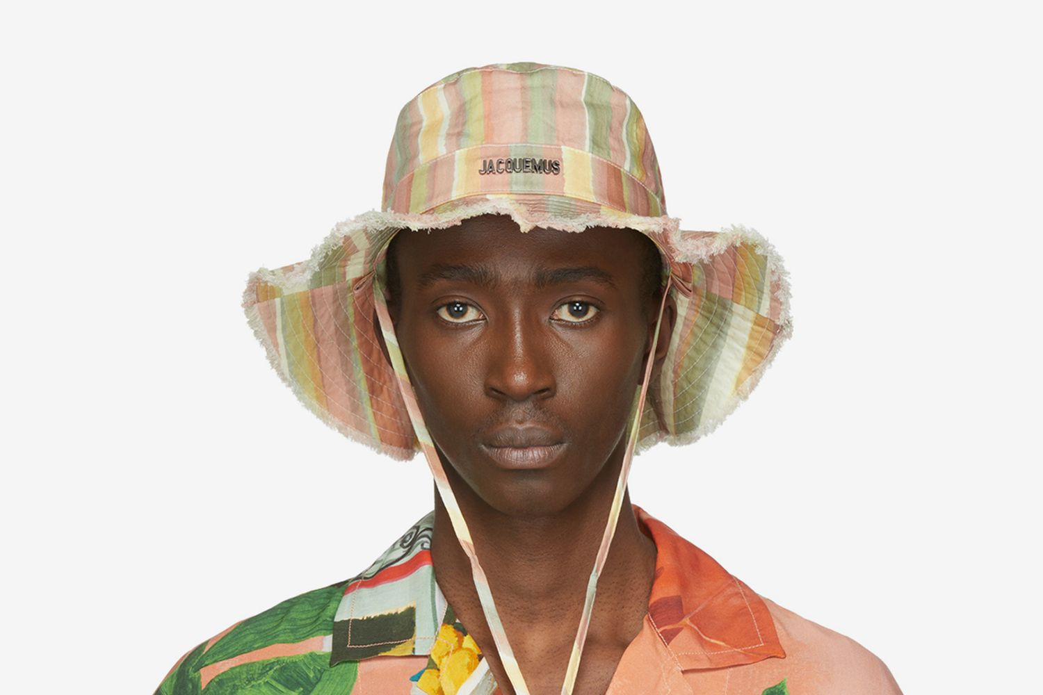 Striped 'Le Bob Artichaut' Bucket Hat