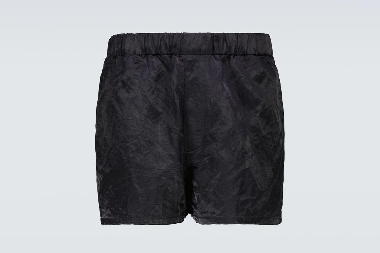Roser Satin Shorts