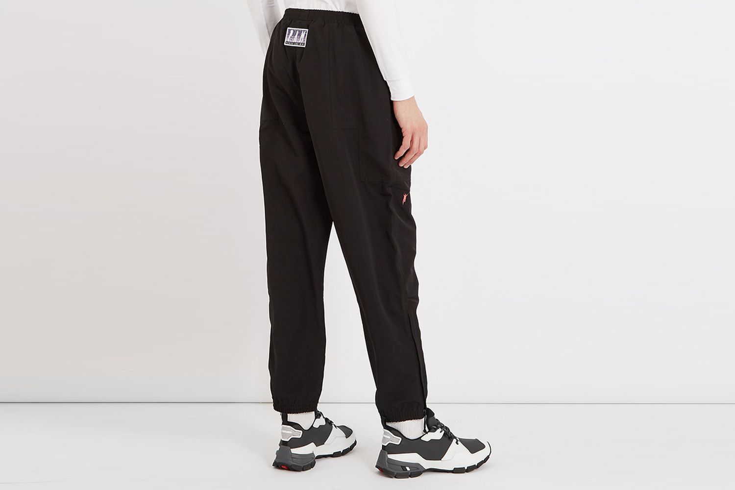 Embroidered Track pants