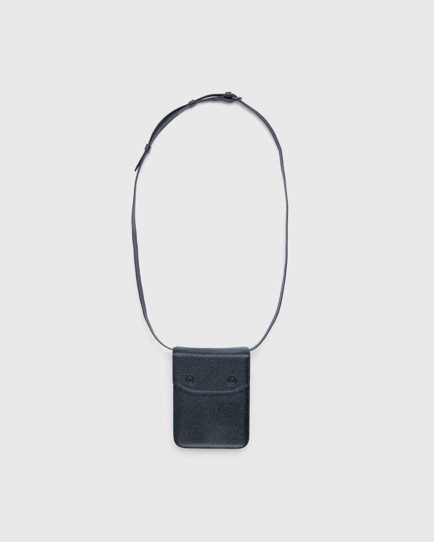 Maison Margiela – Small Leather Chest Pack Black - Image 1