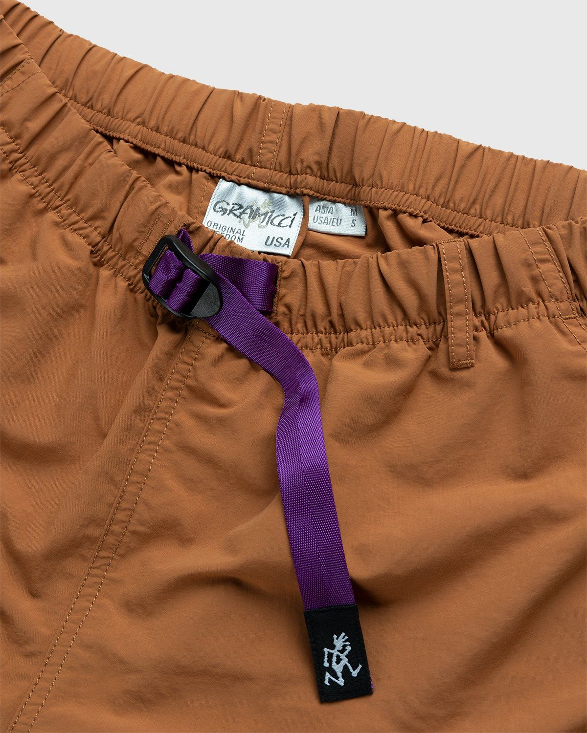 Gramicci for Highsnobiety – Shorts Rust - Image 3