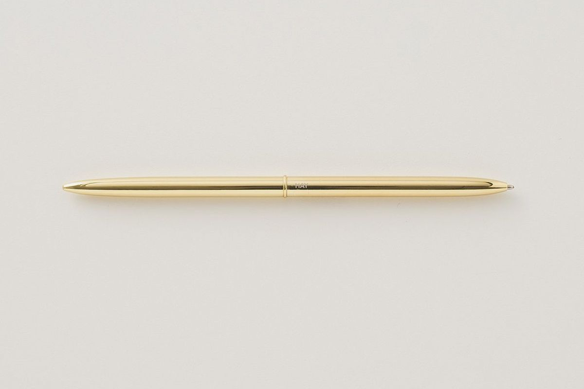 Brass Bullet Pen