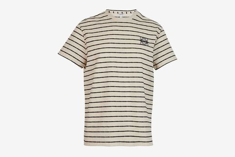 Anagram Striped T-Shirt