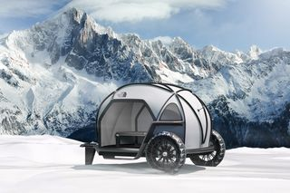 BMW & The North Face Imagine the Future of Campers