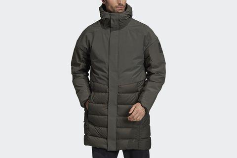 MYSHELTER Climaheat Parka Down Jacket