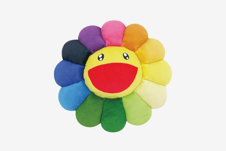 Flower 30cm Plush Rainbow