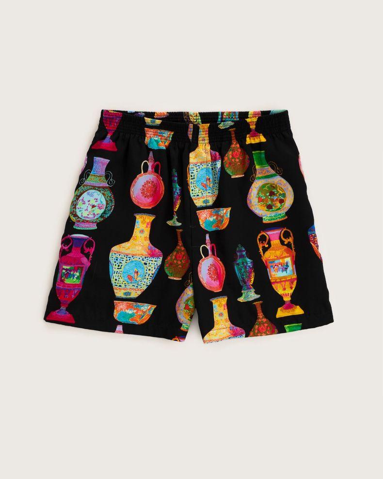 Versace —  Shorts Black—Multicolour