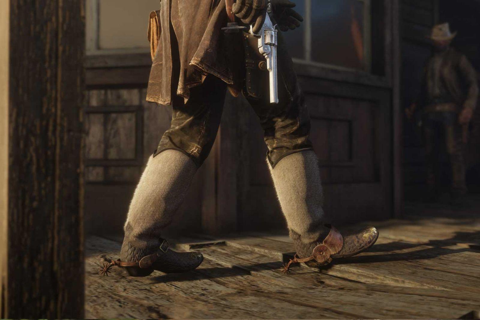 red dead redemption footwear Red Dead Redemption 2 rockstar games