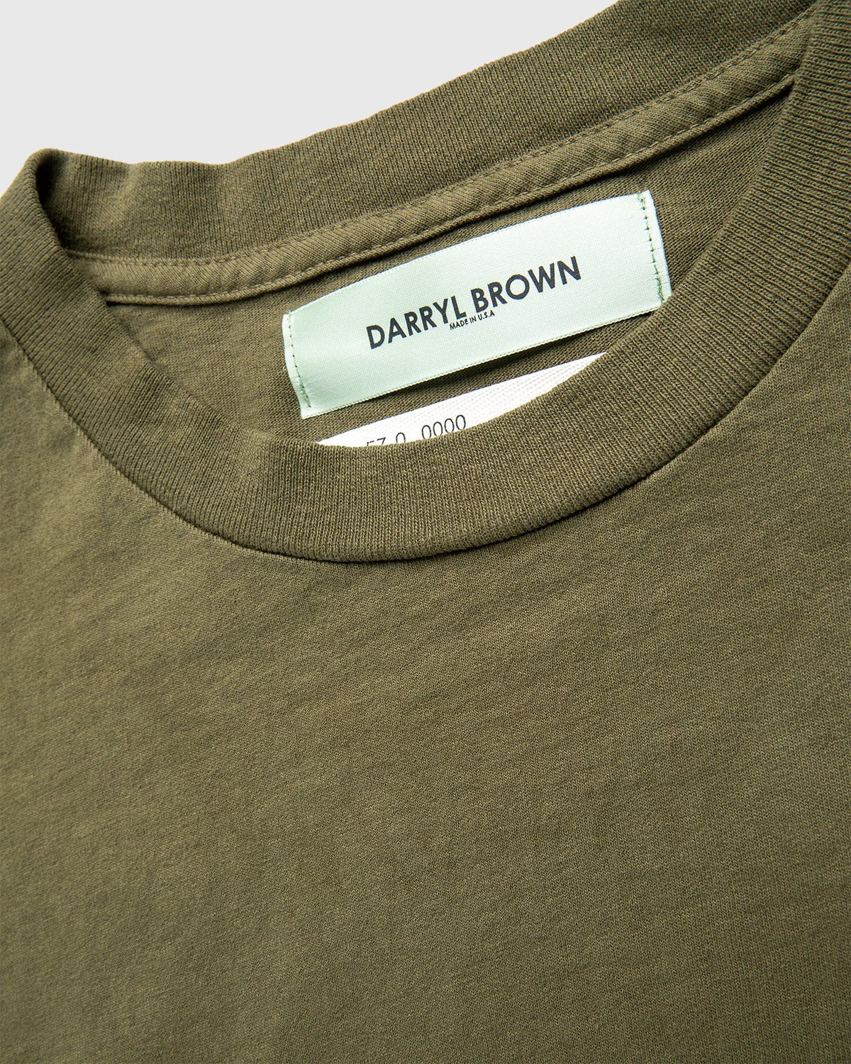 Darryl Brown — T-Shirt Military Olive - Image 3
