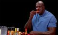 Shaq Starts Crying While Eating Spicy Wings on 'Hot Ones'