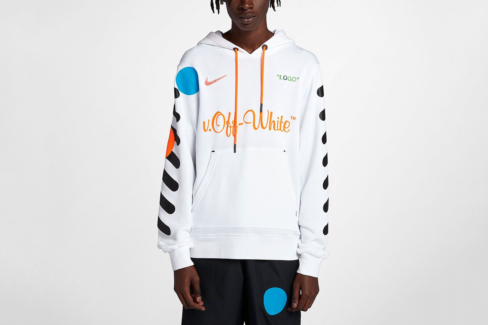 hoodie white 2018 FIFA World Cup Nike OFF-WHITE c/o Virgil Abloh