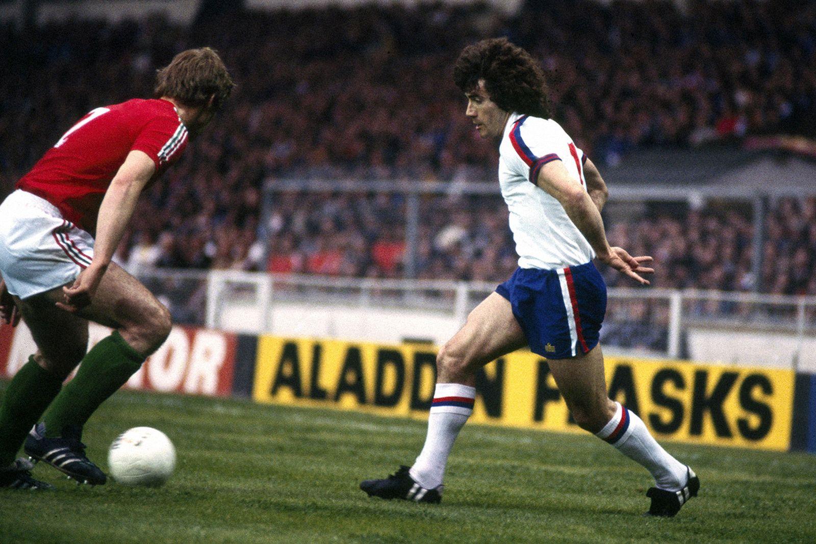 24/5/1978 International Football. England v Hungary. Kevin Keegan