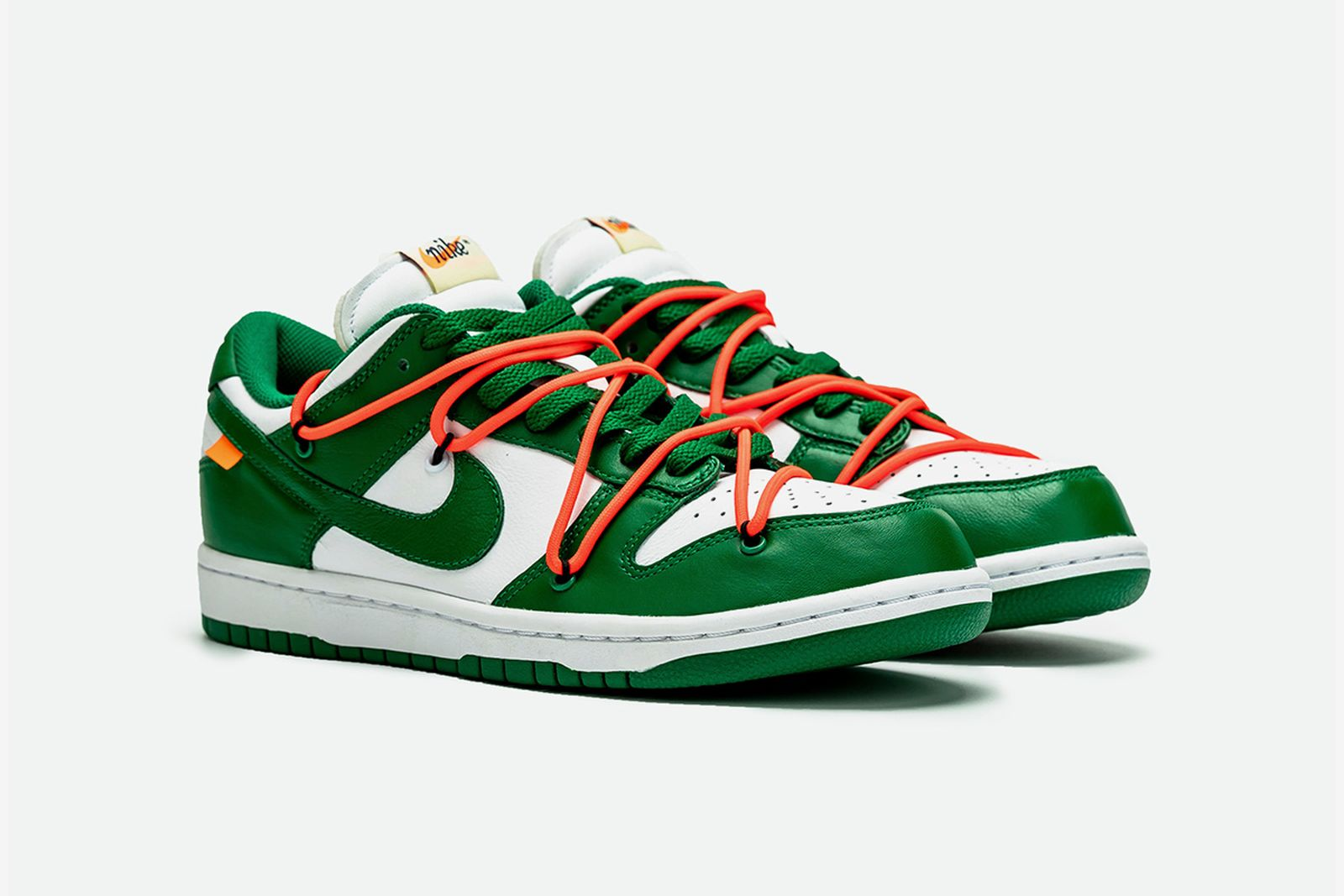 off white nike dunk low green release date price OFF-WHITE c/o Virgil Abloh