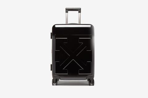 Arrow Embossed Cabin Suitcase