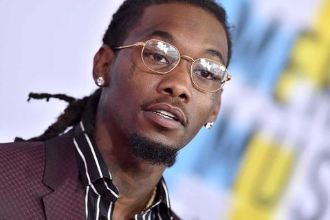 Offset on the red carpet