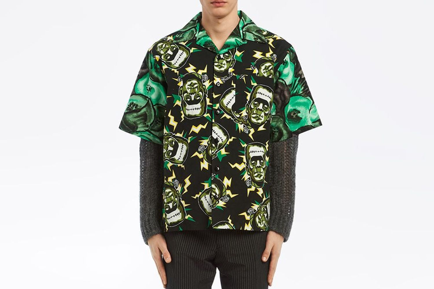 Frankenstein Printed Shirt
