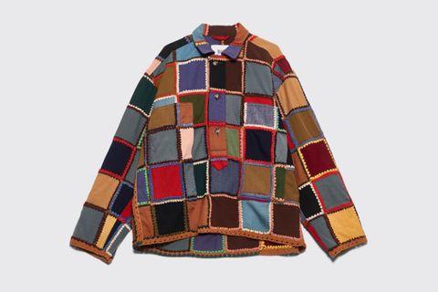 Crochet Patchwork Pullover