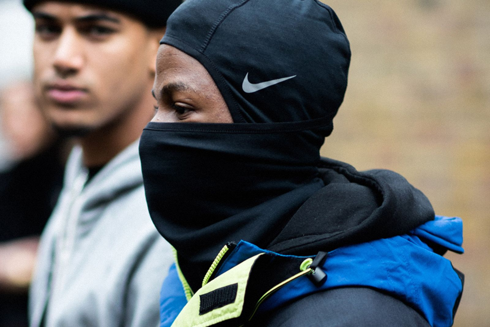 Man in Nike Balaclava