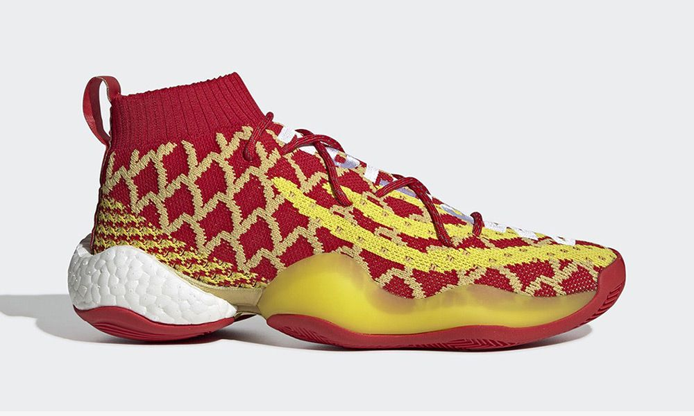 """d4ae7d3ecc426 Pharrell x adidas Crazy BYW """"Chinese New Year""""  Release Info"""