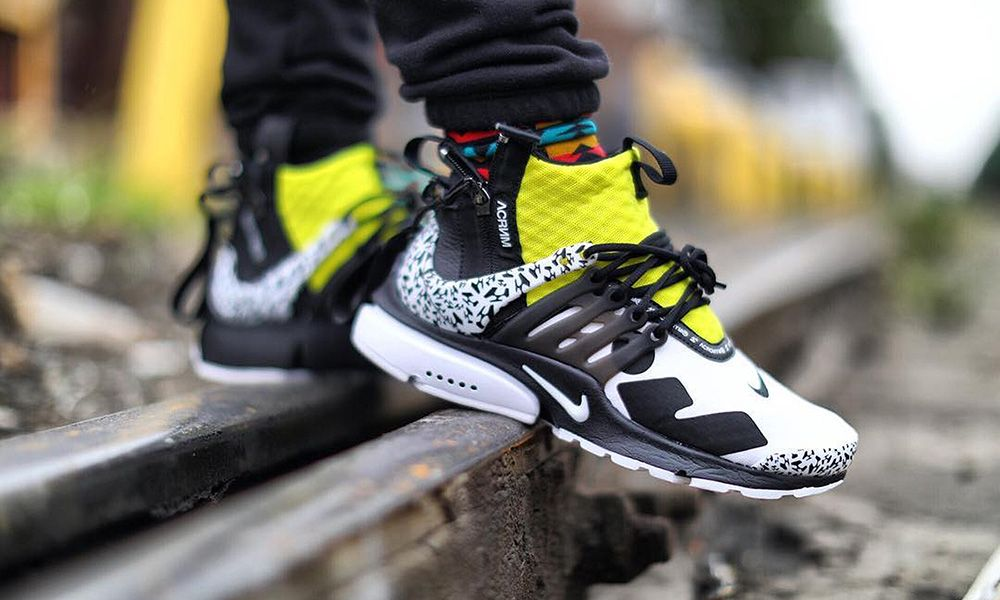 pretty nice b8425 e7889 How IG is Styling ACRONYM s Colorful Nike Presto Mid Collab