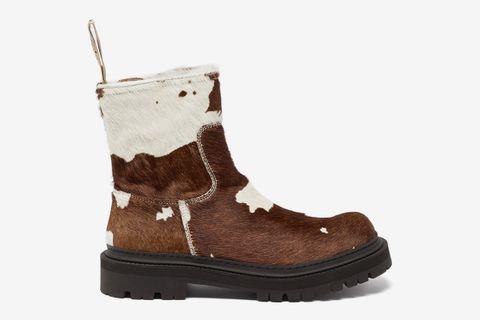 Eki Cow-print Boots