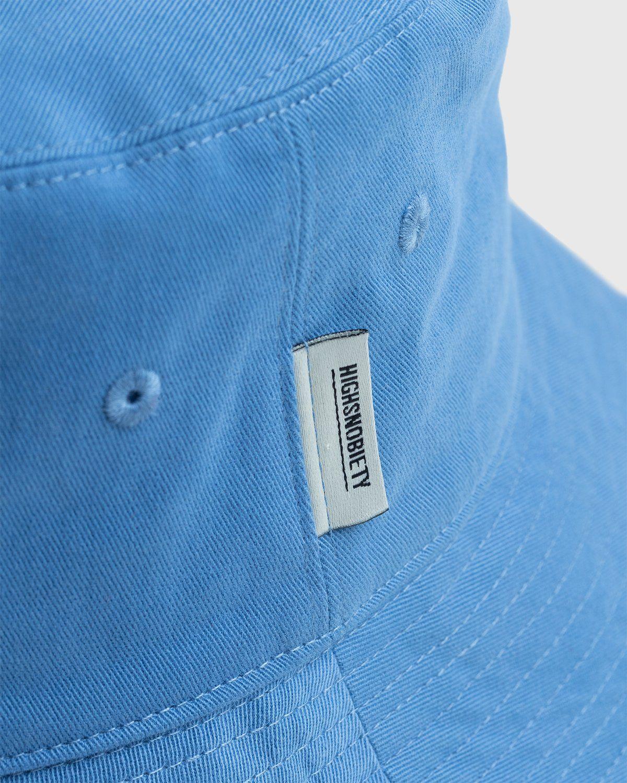Highsnobiety – Bucket Hat Blue - Image 3
