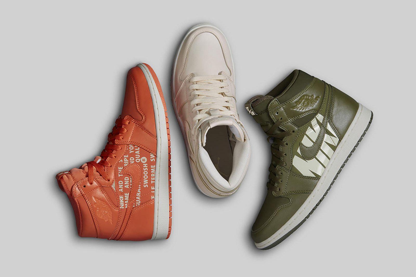 air jordan 1 collection ss18 Nike jordan brand