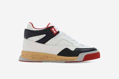 Ddstck Leather Mid-High Sneakers